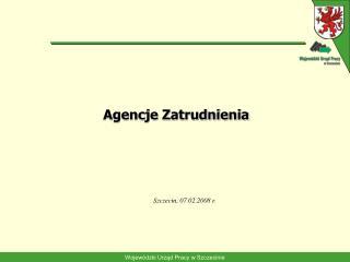 Agencje Zatrudnienia