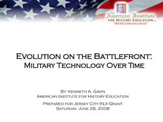 Evolution on the Battlefront: Military Technology Over Time