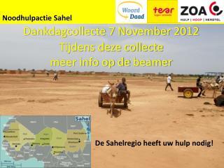 Noodhulpactie  Sahel