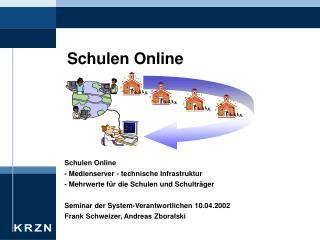 Schulen Online