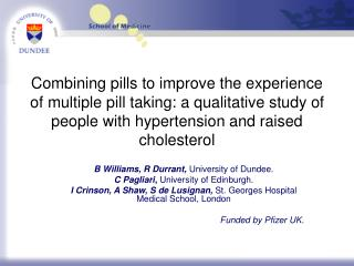 Combining pills to improve the experience of multiple pill taking: a qualitative study of people with hypertension and r