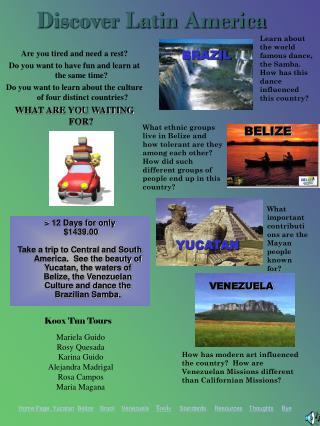 Discover Latin America