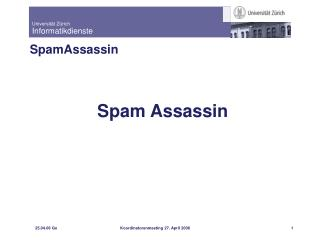Spam Assassin