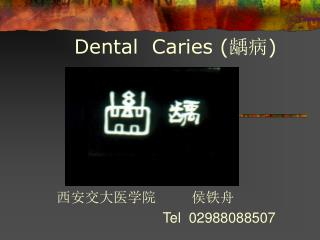 Dental  Caries ( 龋病 )