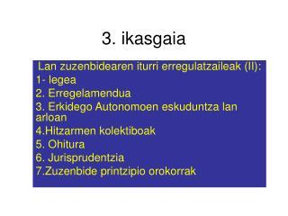 3. ikasgaia