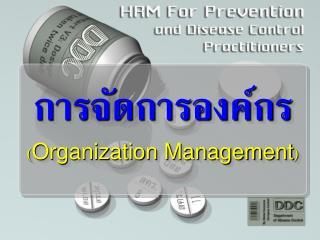การจัดการองค์กร ( Organization Management )