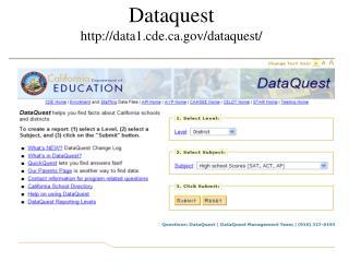 Dataquest data1.cde