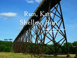 Run, Kate Shelley, Run