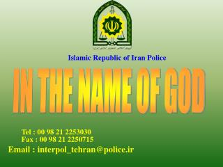 Islamic Republic of Iran Police