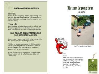 Humleposten      juli 2013