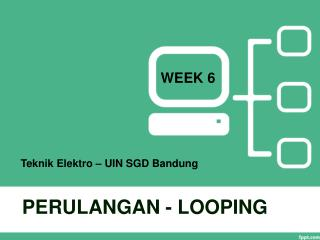 PERULANGAN - LOOPING