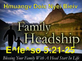 Family Headship