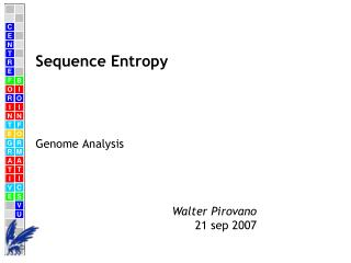 Sequence Entropy