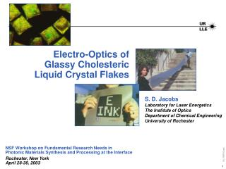 Electro-Optics of Glassy Cholesteric Liquid Crystal Flakes