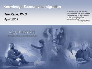 Knowledge Economy Immigration
