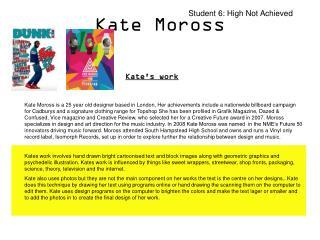 Kate Moross