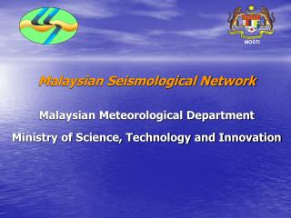 Malaysian Seismological Network