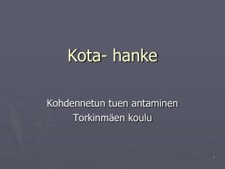 Kota- hanke