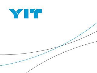 Program:  Tom Sandvik (YIT Group) - představení skupiny YIT