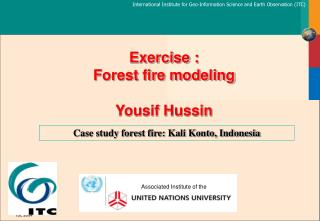 Exercise : Forest fire modeling Yousif Hussin