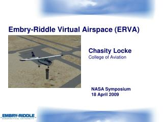 Embry-Riddle Virtual Airspace (ERVA)