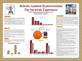 Robotic Assisted Hysterectomies The Sarawak Experience