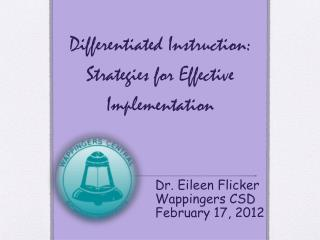 Differentiated Instruction: Strategies for Effective Implementation