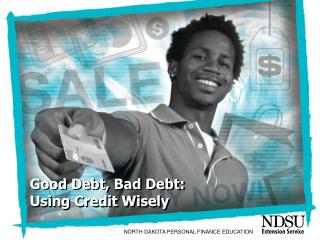 Good Debt, Bad Debt: Using Credit Wisely