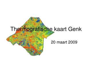 Thermografische kaart Genk