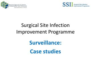 Surgical Site Infection Improvement Programme