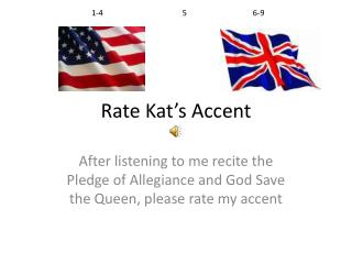 Rate Kat's Accent