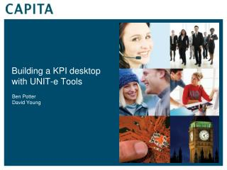 Building a KPI desktop with UNIT-e Tools