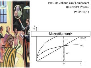 Prof. Dr. Johann Graf Lambsdorff Universität Passau WS 2010/11