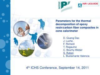 4 th  ICHS Conference, September 14, 2011