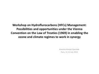 Arancha Hinojal-Oyarbide Paris, 11-12 July 2014