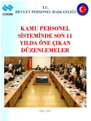 T.C.  DEVLET PERSONEL BAŞKANLIĞI