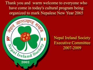 Nepal Ireland Society