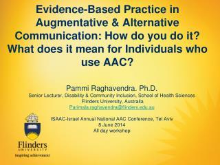 Pammi Raghavendra. Ph.D.