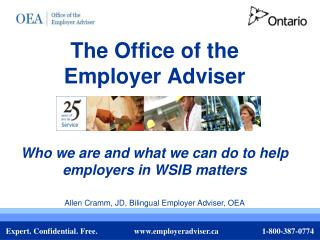 The Office of the  Employer Adviser