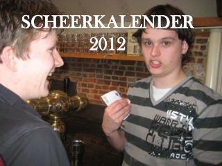 SCHEERKALENDER 2012
