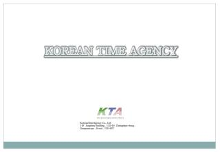KOREAN TIME AGENCY