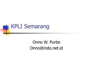 KPLI Semarang