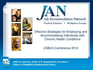 Effective Strategies for Employing and Accommodating Individuals with Chronic Health Conditions