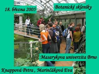 Botanické skleníky