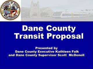 Dane County Transit Proposal