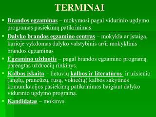 TERMINAI