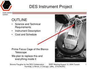 DES Instrument Project