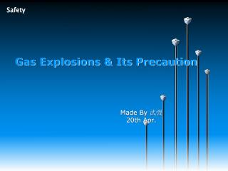Gas Explosions & Its Precaution
