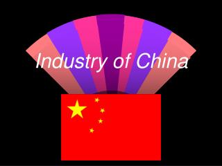 Industry of China