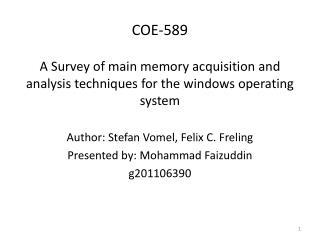 COE-589